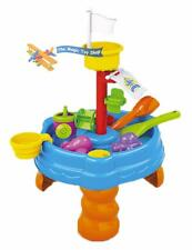 10 pcs Sand and Water Table Garden Sandpit Toy Watering Can Figures Play Set