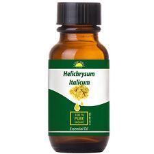 Immortelle Essential Oil Helichrysum Italicum Organic Certified 100% Pure 10 ml