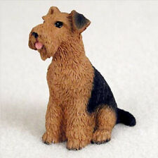 Airedale Terrier Tiny Ones Dog Figurine Statue Resin Pet Lovers