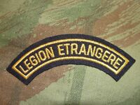 Ecusson demi lune Légion Etrangère or banane patch badge 1/2