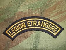 Ecusson demi lune Légion Etrangère or banane patch badge 1/2