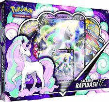 Pokemon TCG Galarian Rapidash V Box