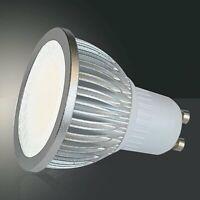 GU10 LED Leuchtmittel 5W aluminium warmweiß 450lm 230V 50Hz