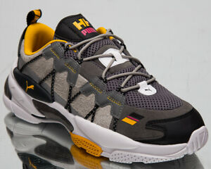 Puma x Helly Hansen LQD Cell Men's Quiet Shade Drizzle Lifestyle Sneakers Shoes