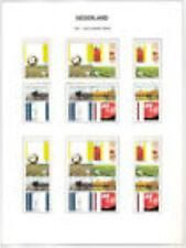 Nederland alle combinaties  uit  postzegelboekje 50  postfris/MNH