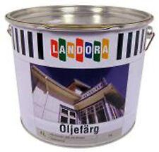 16,73 € / L. industrielle Leinölfarbe Schwedenrot HOLZSCHUTZ, 4 Liter