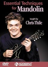 Essential Techniques for Mandolin - Chris Thile Instructional DVD NEW 000641545