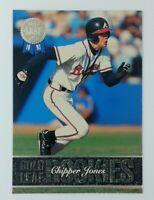 1993 93 Leaf Gold Leaf Rookies Chipper Jones Rookie RC #19, Atlanta Braves, HOF