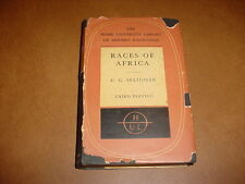 Races of Africa By C.G. Seligman 1957