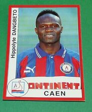 N°85 DANGBETO STADE MALHERBE CAEN PANINI FOOT 95 FOOTBALL SAISON 1994-95