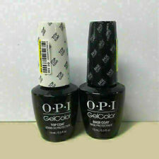 OPI GelColor Top And Base Soak off Gel Coat 0.5 oz /15ml each Duo Set GC 010 030