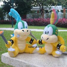 2X Super Mario Bros Koopalings Bowser Baby Larry & Lemmy Koopa Plush Toy Doll