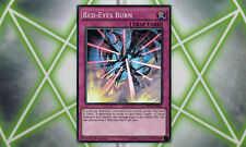 Red-Eyes Burn DRL2-EN021 Super Rare 1st Edition YuGiOh Card Mint