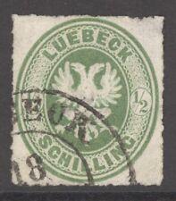Lübeck Mi. Nr. 8A gest. 90 Euro