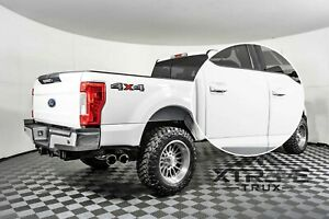 UG White Platinum Painted 17-20 Ford F250 F350 Door Handle Covers Color Match