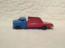 "One Vintage Tin Friction Delivery Truck Restore or Parts 4.75"" Long"