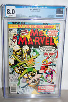 MS MARVEL #2 CGC 8.0 WHITE PAGES 0RIGIN OF MS. MARVEL