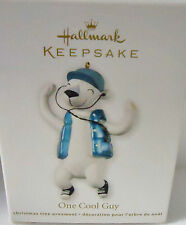 Hallmark 2012 One Cool Guy Collectible Ornament New In Box