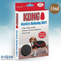 Genuine Kong Anxiety-Reducing Dog Shirt Size X-Small Calming Vest Coat