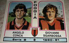 FIGURINA CALCIATORI PANINI 1980/81 FOGGIA N° 368 ALBUM 1981