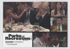 2013 Press Pass Parks and Recreation Seasons 1-4 #5 The Banquet Card 2a1