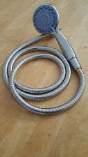 HAND HOLD SHOWER HEAD WITH 1.5 METER FLEX HOSE FOR SALON HOME OFFICE