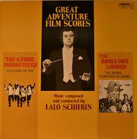 """East - Soundtrack - Great Adventure Film Scores - Lalo Schifrin 12 """" LP (L472)"""