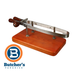 Butchers Wooden Ham Stand Holder Rack Cured Meats