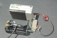 PACIFIC SCIENTIFIC R46SSNA-SS-NS-NV-02 SERVO MOTOR With SC904 DRIVE, Extras