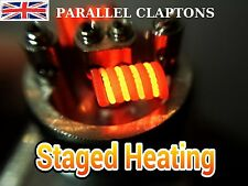 PARALLEL CLAPTON COILS - 6 x CLAPTON 26 GAUGE PARALLEL WITH 24G RDA/RTA