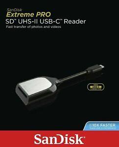 SD Card Reader SanDisk USB-C Reader Extreme Pro Memory Card Type-C Reader