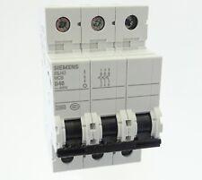 Siemens 5SJ43 D40 Sicherungsautomat 5SJ4340-8CC20 Leitungsschutzschalter 40A 3P