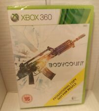 Bodycount Xbox 360 * Promotional Not For Resale *  Brand New & Sealed * UK PAL *