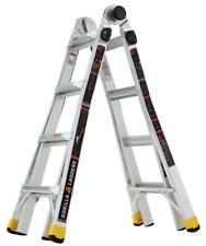 Gorilla Ladders 18 ft Lightweight Aluminum Multi-Position Ladder 300 lb Capacity