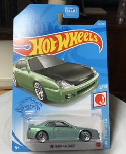 Hot Wheels J-Imports '98 Honda Prelude 1/64 Diecast Dollar General Exclusive