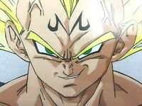 Dragonball Z MAJIN VEGETA Cel Anime DBZ Dragon Ball Z Eps. 229, READ DESCRIPTION