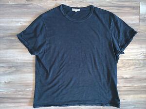 Alex Mill T-Shirt, Men's XL, Black