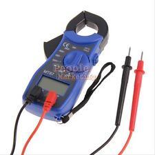 Portable LCD Digital Auto Range Clamp Multimeter Tester AC DC Volt OHM Meter