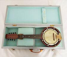 John Grey & Sons - Vintage Banjo - With wooden case - 8 Strings