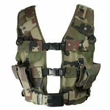 Genuine Issue French Army CCE Woodland Camo Combat Tactical Assault Vest