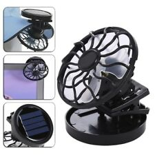 Mini Clip-on Solar Power Energy Panel Cooling Cell Fan Cooler Outdoor for Travel
