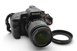 Sony Alpha A200 200 Digital Kamera Kit Lens DT 3,5-5,6 / 18-70 mm SAM Macro g122