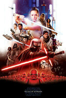 STAR WARS THE RISE OF SKYWALKER MOVIE POSTER USA VERSION Size 24x36