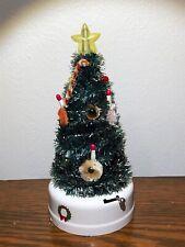 Vintage Rare Mini Battery Christmas Tree Light Aaa Trademark Bulb Made In Japan