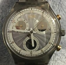 Vintage Swatch Chronograph Watch (Steelworker).