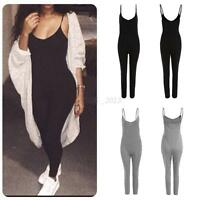 Women V Neck Clubwear Playsuit Sleeveless Bodycon Party Jumpsuit  Pants Trousers