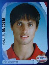 Panini 304 Manuel Da Costa PSV Eindhoven UEFA CL 2007/08