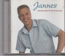 Jannes-Met Jou Kan Ik Het Leven Aan cd album