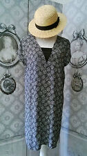 """Robe Tunique """"Promod"""" So Chic Noeud Noir Taille 42++"""