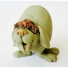 Gift or present  'Overweight Dog' Dog Polyresin Figurine